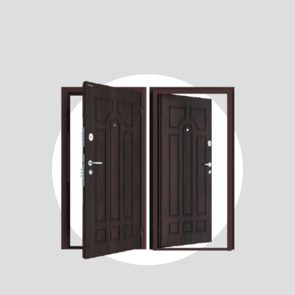стальные металлические двери Doorhan