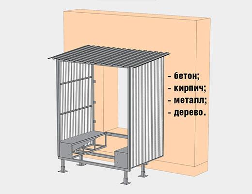 Монтаж перегруочного тамбура Дорхан